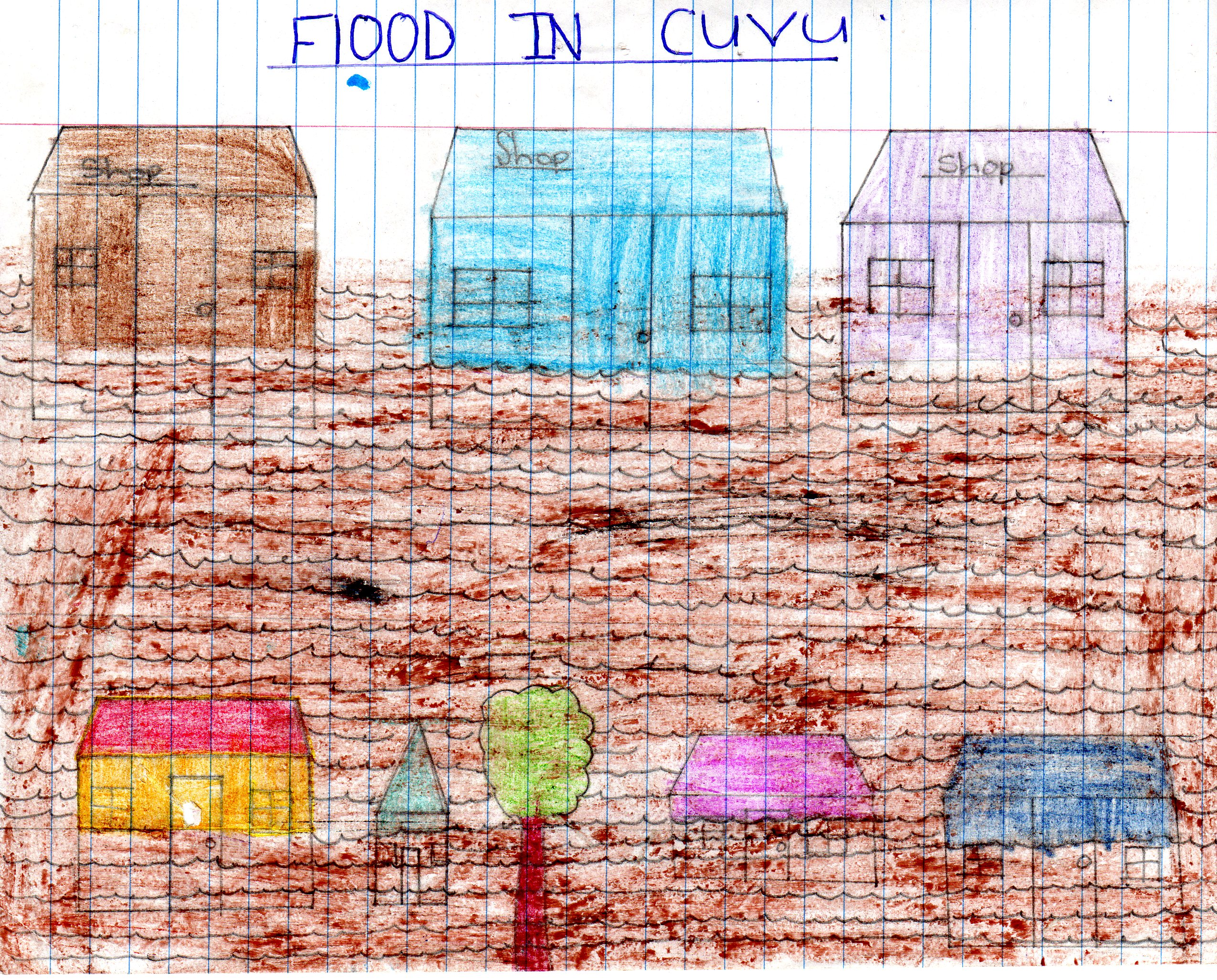 The flood - through the eyes of a child