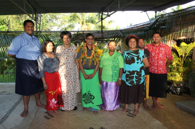 The Korovakaturaga Ganilau family who made the day very memorable for us