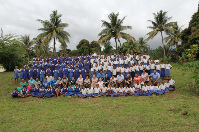 Vinaka vakalevu Somosomo District School - we enjoyed out stay at your school