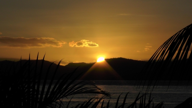Another lovely sunset in Taveuni