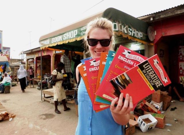 Melissa in Ghana