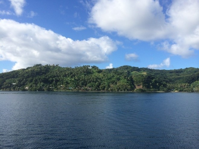 Taveuni Island, also called the Garden Island.