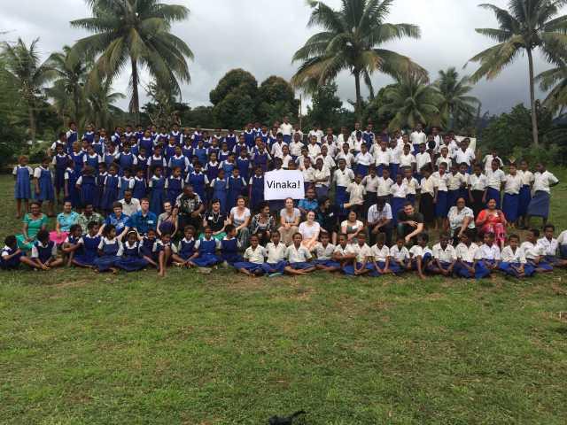 Vinaka - A Fijian thank you.