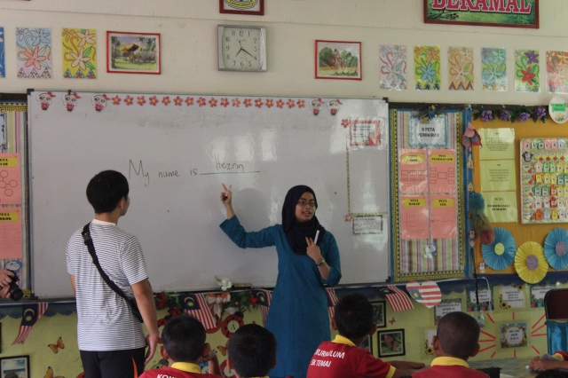 We were very fortunate to have Ms Nurhezrin Anuar in our team