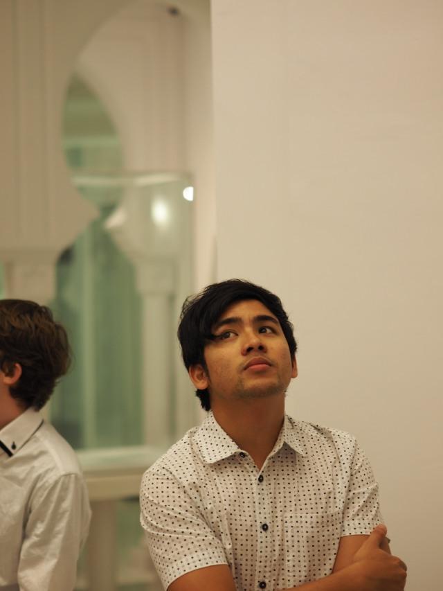 At the Masjid Sultan Abdullah Pekan Museum (Photo: Richard Medland)