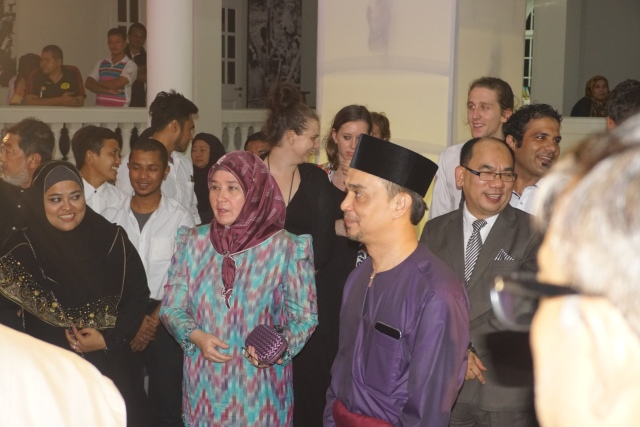 Dato Farid with Her Royal Highness and some of our team members Photo: Batik and Bubbles )